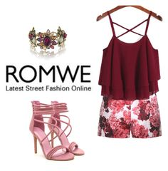 """ROMWE - By DreamCloset"" by dreamclosetx4 on Polyvore featuring Moncler Gamme Rouge and Chloe + Isabel"