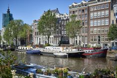 woonschip in Amsterdam | tobiasmedia.nl Holland, Luxury Houseboats, Sports Nautiques, La Haye, Houseboat Living, Luxury Interior, Real Estate, Pets, Patio