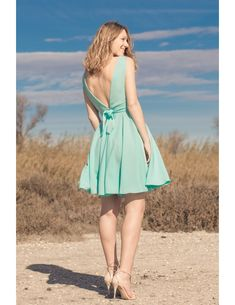 robe-dos nu-chic-glamour-noeuds   Mariage biby   Pinterest 38581744f7fa