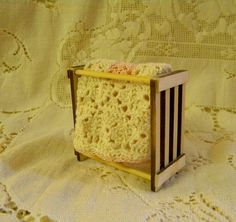 Quilt rack dollhouse miniature kit Build in by TreasuresFromTexas, $10.00