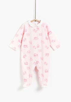 Pijama aterciopelado de recién nacido TEX 98d7dafe87d4