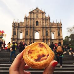 Pin for Later: This Instagram Account Will Feed Your Wanderlust and Your Appetite Portugese Egg Tart in Macau