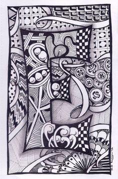Desenhos de pintar para desestressar