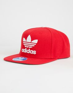 cd1e56cd34f ADIDAS Thrasher Mens Snapback Hat Red Hats
