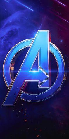 Avengers logo, Avengers wallpapers for iP hone and Android Marvel Films, Marvel Art, Marvel Heroes, Marvel Cinematic, Logo Avengers, The Avengers, Marvel Logo, Iron Man Wallpaper, Avengers Wallpaper