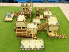 A review of the Systema Gaming Base-0 Bundle MDF Wargaming Terrain Infinity 40k