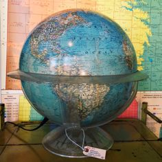 National Geographic Light Up Globe available at Hello Sailor.