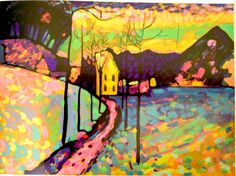 Wassily Kandinsky – Former lawyer turned founding...