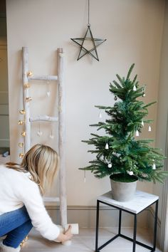 christmas decorations from the white company - at home with Joanne Hegarty From The Stylist And The Wardrobe
