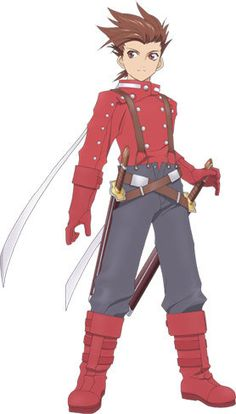 tales of symphonia lloyd | Lloyd Irving (Tales of Symphonia) (278×488)