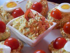 MAKE-FOOD: Zdravá vajíčková pomazánka Healthy Food, Healthy Recipes, Guacamole, Potato Salad, Food To Make, Potatoes, Breakfast, Ethnic Recipes, Diet