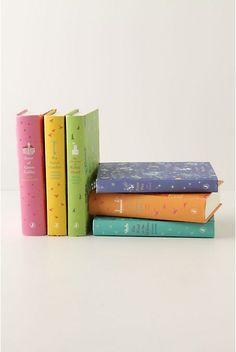 beautiful books: Clothbound Penguin Classics For Children @ Anthropologie