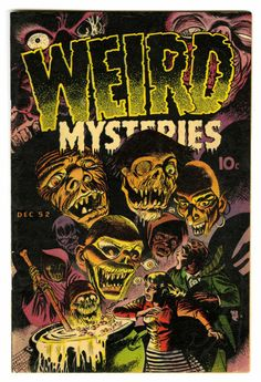 Bernard Baily | Weird Mysteries #2 | Gillmor | 1952