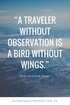 Travel Quote, travel inspiration