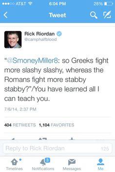 rick riordan tweets - Google Search