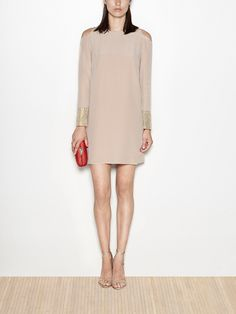 Silk straight dress | Hoss Intropia Portugal