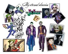 """The Joker"" by nanosmiles ❤ liked on Polyvore featuring art"