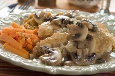 Mushroom Lover's Chicken | MrFood.com