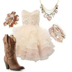 So cute for a country chic wedding!!