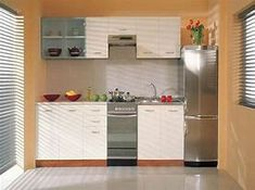 Small space kitchen storage ideas tiny kitchen space ideas small kitchen cabinets cool ideas for small . Small Gallery Kitchen, Small Kitchen Cabinet Design, Simple Kitchen Design, Small Kitchen Cabinets, Small Space Kitchen, Small Spaces, Small Dining, Narrow Kitchen, Pantry Design