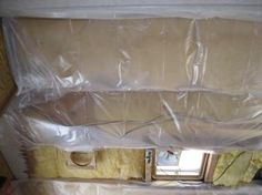 installing Insulation in vintage camper also includes links to repairing rotten wood and fixing water damage. Old Campers, Retro Campers, Camper Trailers, Happy Campers, Camper Hacks, Diy Camper, Camper Life, Vintage Rv, Vintage Camper Parts
