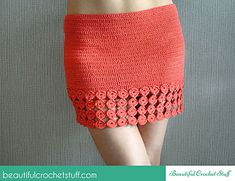 This pretty crochet skirt can be made in one evening depending on your skill level and the length you want. If you want the high-waisted skirt then just make more rounds up or more circles to make it longer. This simple pattern will help you create your own original skirt.