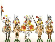 Los Tercios Españoles | El furriel mayor era el encargado de alojar a los soldados, de los almacenes del tercio y de las pagas. Se encargaba de los aspectos logísticos.   Cada compañía tenía a su vez un furriel que se encargaba de llevar a cabo las órdenes del furriel mayor. cada furriel llevaba las cuentas de la compañía, la lista de los soldados, las armas y munición de la que precisaban los soldados y el capitán.