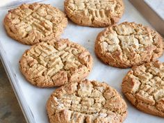 Peanut Butter Cookies recipe from Nancy Fuller via Food Network