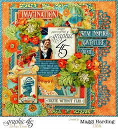 Love this collection, World's Fair.  It is bright, it is bold, it is vintage,  and it is wonderful!!