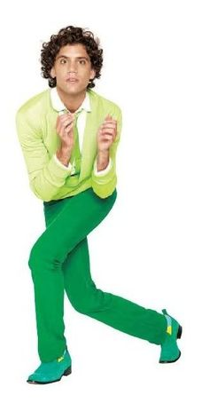 Mika in green - from Live Magazine 23-12-2007