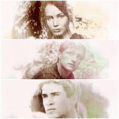 Hunger Games / Peeta / Katniss / Gale