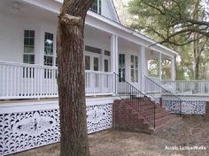 mobile home ideas | Picture Gallery of How to Create Mobile Home Skirting Ideas