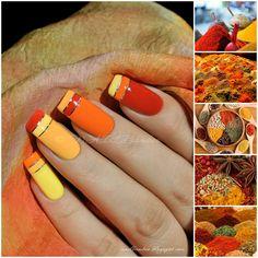 nailbamboo: Красный, oранжевый, желтый...
