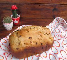 Panettone en panificadora | El blog de Lucía Pan Bread, Bread Cake, Candy Cakes, Our Daily Bread, Food N, Sin Gluten, Bread Recipes, Yummy Treats, Bakery