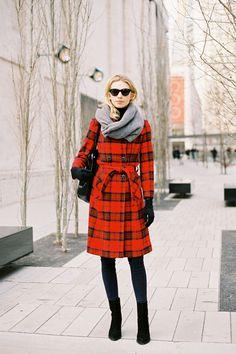 Christmas coat love