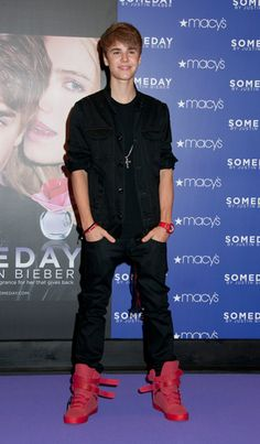 Justin Bieber 'Someday' Fragrance Launch at Macy's