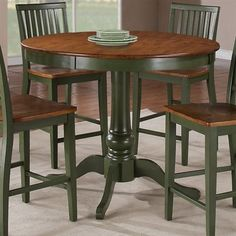 Elegant Steve Silver Company CD360 Candice Round Counter Height Table   Home  Furniture Showroom