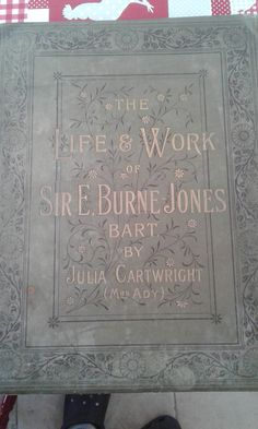 The Life and Work of Sir E. Bart by Julia Cartwright (Mrs. Henry Ady) by MarysCuriosityStore on Etsy Life Words, Curiosity, Handmade Gifts, Etsy, Store, Kid Craft Gifts, Craft Gifts, Larger, Diy Gifts