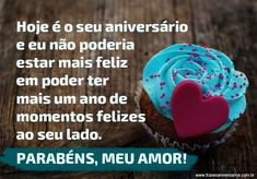 Frases de Aniversário para Marido - Frases de Aniversário Congratulations, Desserts, Husband Birthday Message, Happy Birthday Sms, Love Verses, Anniversary Quotes, Love Quotes For Fiance, Tailgate Desserts, Deserts
