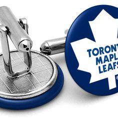 toronto maple leafs cufflinks frenchcuffed - Google Search Anaheim Ducks, Toronto Maple Leafs, Nhl, Cufflinks, Google Search, Accessories, Wedding Cufflinks, Jewelry Accessories