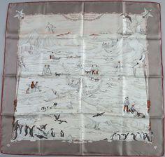 Hermès - Hommage à l'Explorateur Shackleton, signé  Zoe Pauwels