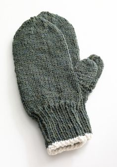 Toasty Knitted Mittens Pattern