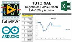 Tutorial para el registro de datos y visualización en una hoja de cálculo (Excel) de una señal análoga con LabVIEW y Arduino. Si te gustó el vídeo, no olvide...