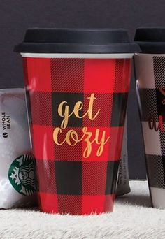 Get Cozy Travel Mug