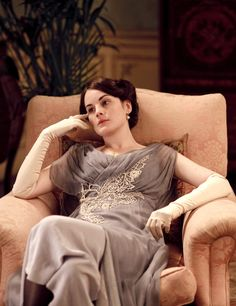 """Women like me don't have a life.  We choose clothes and pay calls and work for charity and do the Season.  But really we're stuck in a waiting room until we marry.""    - Lady Mary, Downton Abbey episode 104"