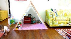 Play tent tutorial... perfect for Anna!!