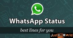 WhatsApp status need not be boring! I have best of clever, funny and cheeky one liner status messages. Select your WhatsApp status from one line quotes! Attitude Status, Love Status, Attitude Quotes, Short Status, Status Hindi, Funny Whatsapp Status, Facebook Status, Status Whatsapp English, Find Quotes