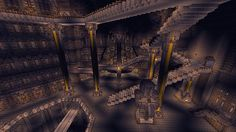 Erebor – The Lonely Mountain Minecraft World I hafta make this