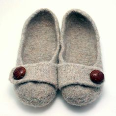 Constructed more like a shoe than a sock, these felted slippers will keep you stylish AND comfortable! Free Shipping on USA orders over $75.