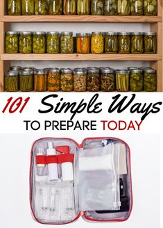 Are you ready for another pandemic or food shortage? Make sure you are with these 101 simple ways to prepare today!
